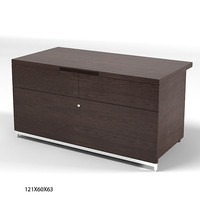 Maxalto Night Stand storage unit drawers modern contemporary B&b