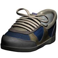 3d obj old sneaker