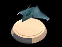 Aqua Spaceship