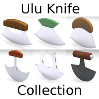 Ulu Knife Collection
