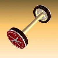 max wheel clock