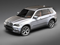3d model of bmw x5 suv