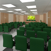 Auditorium - Presentation room - vray