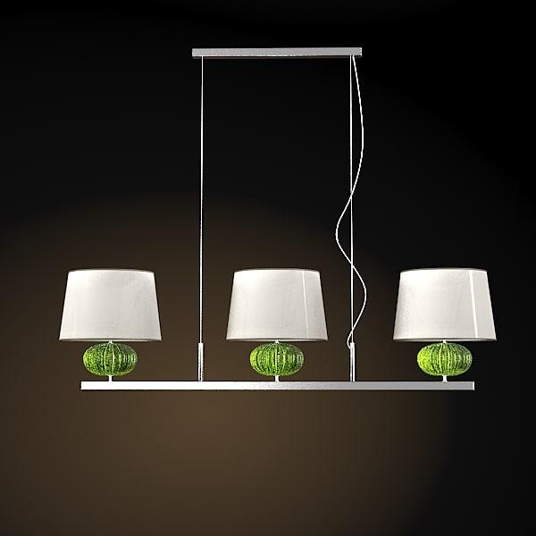 BAROVIER TOSO MODERN CONTEMPORARY PENDANT LAMP CRYSTAL GLASS MATRIOSKA
