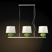 BAROVIER TOSO MODERN CONTEMPORARY PENDANT LAMP CRYSTAL GLASS MATRIOSKA