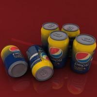 Pepsi Twist Can