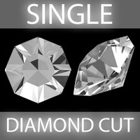 Single Diamond cut