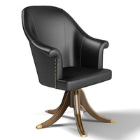 bizotto home office chair armchair classic luxury leather