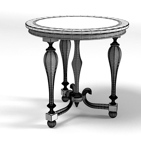 Small Coffee Tables At Game: Chelini Classic Small 3d Model