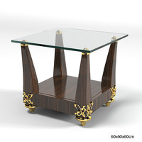 Lanpas Glass Table