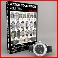 3d model watch vol 1