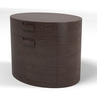 maxalto night stand 3d model