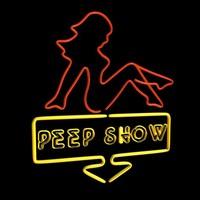 peep neon 3d model