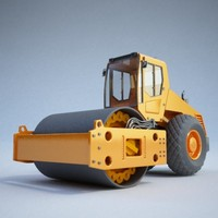 Construction equipment - Roller01