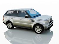 2009 rover range 3d model