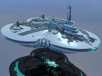Tripod Starship