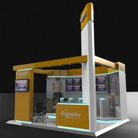 Exhibition Booth Concept Electrical