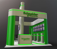 Exhibition Booth for Electrical Co.