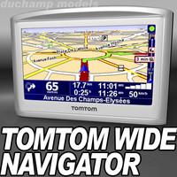 TomTom widescreen Navigator