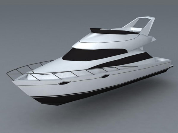 yacht 3d model - Yacht... by odio