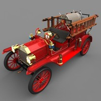 "Model T ""Howe"" Fire Engine, 1913"