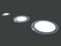 Floor recessed lights