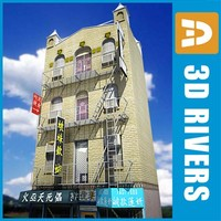 China town 4-storey building by 3DRivers