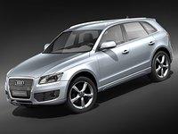 Audi Q5 2009 midpoly