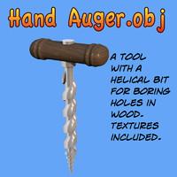 Hand Auger.obj