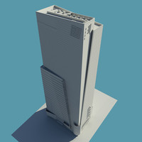 3ds max square building new