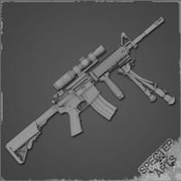 M4a1 DMR