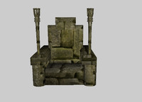 trone 3d 3ds