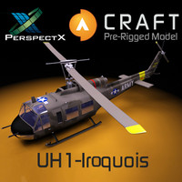 UH1 Pre-Rigged for Craft Director Tools