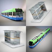 CR4000 & Tram Stop