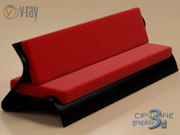 sofa bend 3ds
