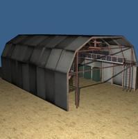 Military hangar