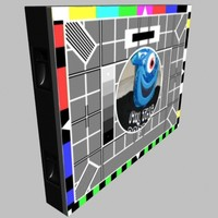 3d video wall display unit