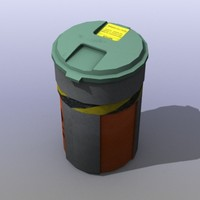 plastic barrel games 3d max