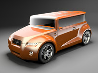 Scion Hako coupe concept 2008
