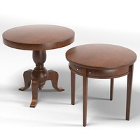 round tables side table