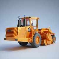 Construction equipment - Scraper01