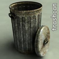 bin dumpster 3d model