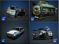 Wreak Cars Collection  II