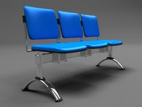 Modern seating - 1 - Vray Material