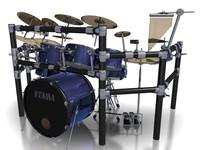 drums e 3d model