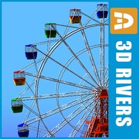 Ferris Wheel by 3DRivers