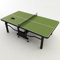 ping pong table 3d model