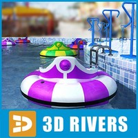 Bumper boats collection 01 by 3DRivers