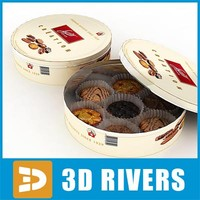 Cookies box by 3DRivers