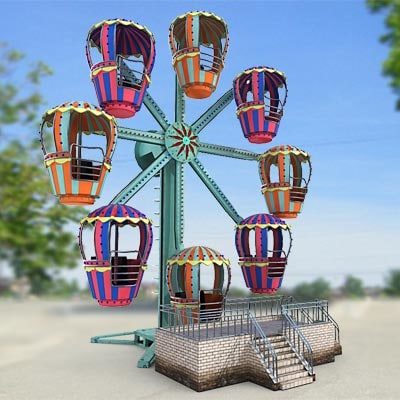 Small Ferris wheel by 3DRivers